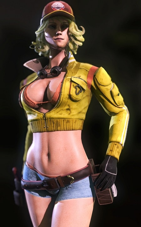 hot females in video games